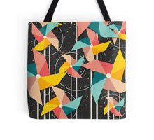 Colourful Pinwheels Tote Bag