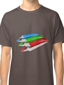 Red Green Blue Cream colors Classic T-Shirt