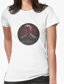 Time is a Flat Circle True Detective Womens Fitted T-Shirt