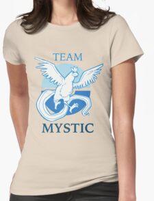PKMNGO TEAM Mystic Alliance! Womens Fitted T-Shirt