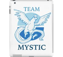 PKMNGO TEAM Mystic Alliance! iPad Case/Skin