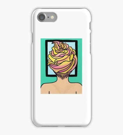 Icing Hair in Mirror  iPhone Case/Skin
