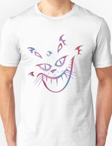 Crazy Cheshire Cat Grin Unisex T-Shirt