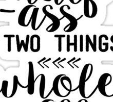 Parks and Rec - Ron Swanson Quote Sticker