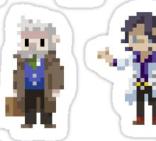 Pixel Professors Sticker