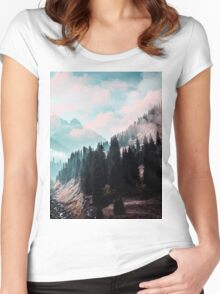 The Juxtaposed Creation #redbubble #lifetstyle Women's Fitted Scoop T-Shirt