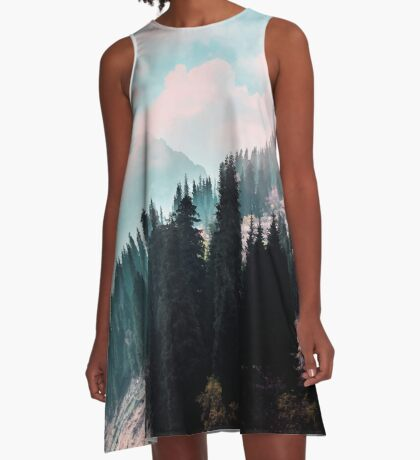The Juxtaposed Creation #redbubble #lifetstyle A-Line Dress
