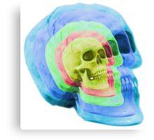 Psych Skull Canvas Print