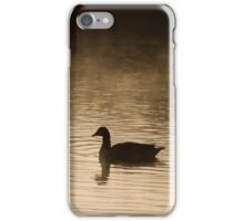 Goose Silhouette iPhone Case/Skin