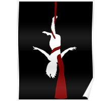 Aerialist Female Aerial Silk Circus Poster