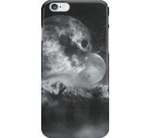 Stellar Ghosts Monochrome iPhone Case/Skin