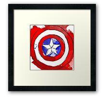 Captain Framed Print