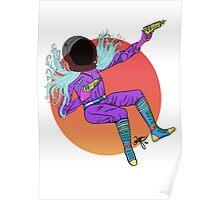 Astro Girl Poster