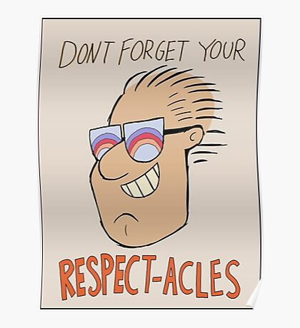 Respectacles Poster