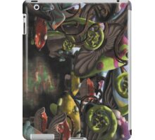 Wonderland Toadstool and Fern Forest iPad Case/Skin