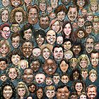Faces of Humanity by Kevin Middleton