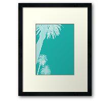 Palms Framed Print