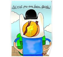 Son of Finn / Magritte Meets Adventure Time  Poster