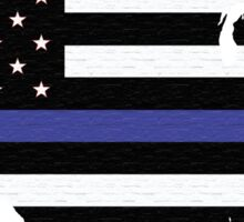 Thin Blue Line United States Sticker