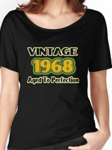 Vintage 1968 – Aged To Perfection Women's Relaxed Fit T-Shirt