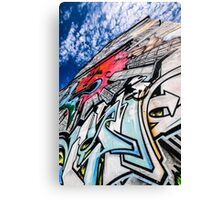 Graffiti Brighton 2 Canvas Print
