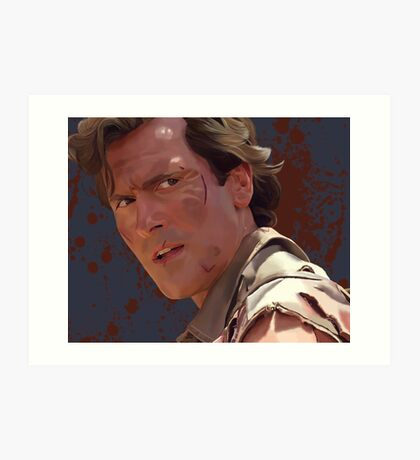 Groovy Ash - Army of Darkness Art Print