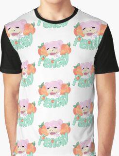 pokemon --- PEACHY SLOWPOKE Graphic T-Shirt