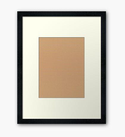 Wooden Spade #6 Framed Print