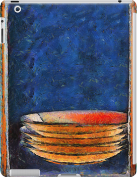 Six Japanese Bowls iPad Case by RC deWinter