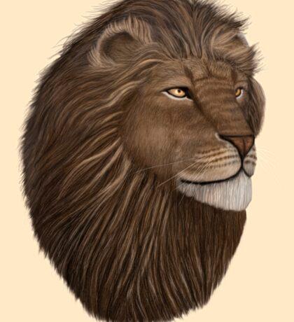 Male Lion Portrait Sticker