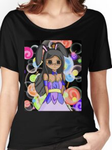 The Anime Otaku Profile Bunny Picture 1 Women's Relaxed Fit T-Shirt
