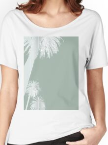 Palms Green Women's Relaxed Fit T-Shirt