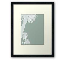 Palms Green Framed Print