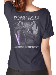 In Balance With Chaos And Harmony Immortal In The Force Women's Relaxed Fit T-Shirt