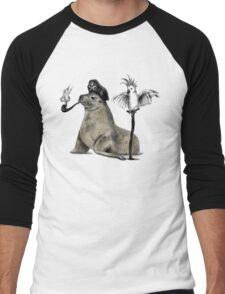 Pirate Men's Baseball ¾ T-Shirt