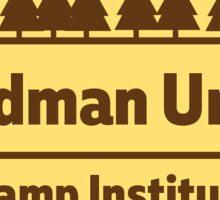 Brown & Yellow GUCI Alternative Logo Sticker