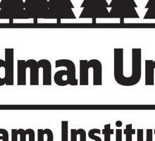 Black & White GUCI Alternative Logo Sticker
