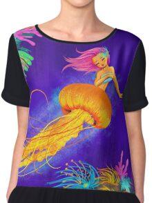 Jellyfish Mermaid! Chiffon Top