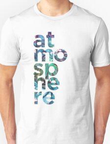 Atmosphere Word - Broken Glass Watercolor Galaxy Mosaic Unisex T-Shirt