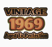 Vintage 1969 – Aged To Perfection Kids Tee