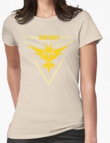 Team instinct pokemon go Womens Fitted T-Shirt
