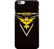 Team instinct pokemon go iPhone Case/Skin