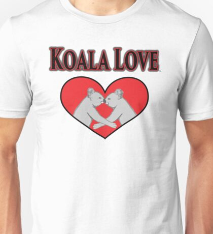 Koala Love  Unisex T-Shirt