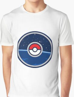 "POKEMON GO: ""GO"" pokemon go logo! Graphic T-Shirt"