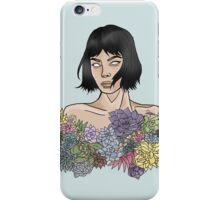 Succulent Serenity  iPhone Case/Skin