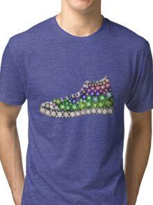 PolyPunk Kicks w Bling Bling by Junky Star Brand Tri-blend T-Shirt