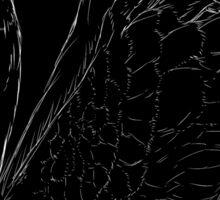 Black Swan Queen - Gold Crown Sticker