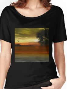 Tropical Serenity Women's Relaxed Fit T-Shirt