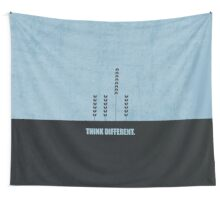 Think Different - Corporate Start-up Quotes Wall Tapestry