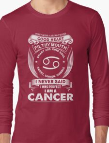 cancer horoscope T-shirt Long Sleeve T-Shirt